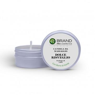 """Candela da Massaggio """"Dolce Risveglio"""", Ebrand Cosmetics, 80 gr"""