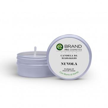 """Candela da Massaggio """"Nuvola"""", Ebrand Cosmetics, 80 gr"""