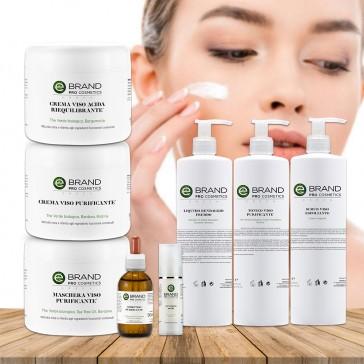 Protocollo trattamento viso purificante