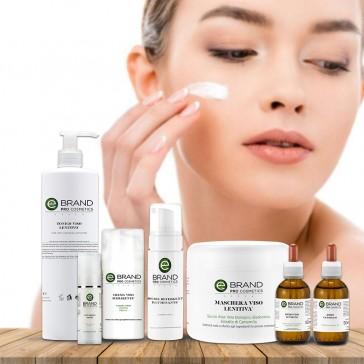Protocollo trattamento viso esfoliante schiarente, acido glicolico