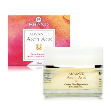 Crema Viso Rigenerante Bava di Lumaca - Ebrand advance Anti Age - 50 ml