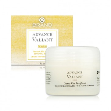 Crema Viso Purificante - Ebrand Advance Valiant - Vaso 50 ml