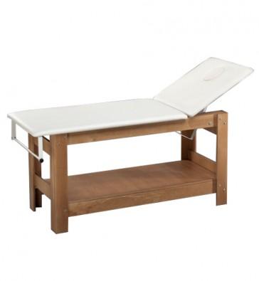Portarotolo Per Lettino Massaggio.Lettino Massaggio Con Foro Viso E Portarotolo Wooden Relax