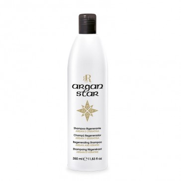 Shampoo Rigenerante Argan Star - 350 ml - RR Real Star