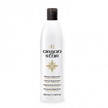 Shampoo Rigenerante Argan Star - 350 ml - RR Real Star