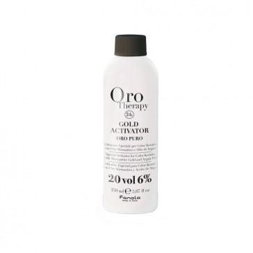 Acqua Ossigenata Gold Activator 20 Vol. - 6 % Oro Puro - 150 ml