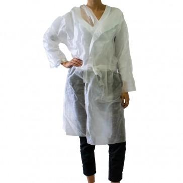 Kimono Monouso TNT Bianco - Conf. 5 Pezzi