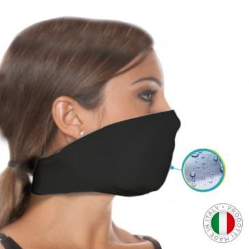 Mascherina Filtrante Lavabile Unisex Taglia Unica - Colore Nero