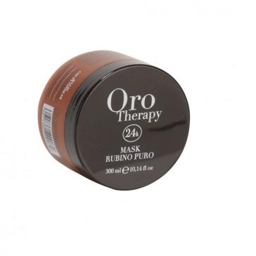Maschera Cheratina Capelli Colorati - 300 ml - Rubino - Oro Therapy