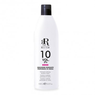 Emulsione Ossidante Profumata in Crema 10 Vol. 3% - RR Real Star - 1000 ml