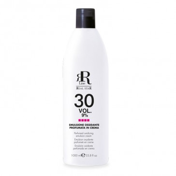 Emulsione Ossidante Profumata in Crema 30 Vol. 9% - RR Real Star - 1000 ml
