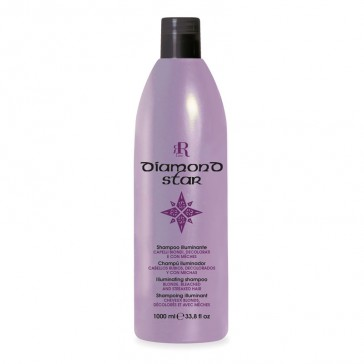 Shampoo Illuminante Diamond Star - 1000 ml - RR Real Star