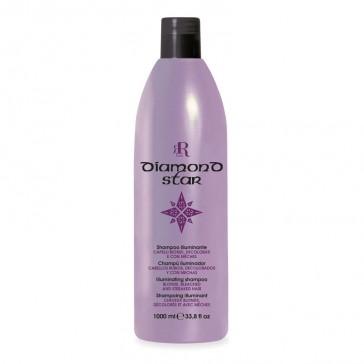 Shampoo Illuminante Diamond Star - 1000 ml - RR Real Star