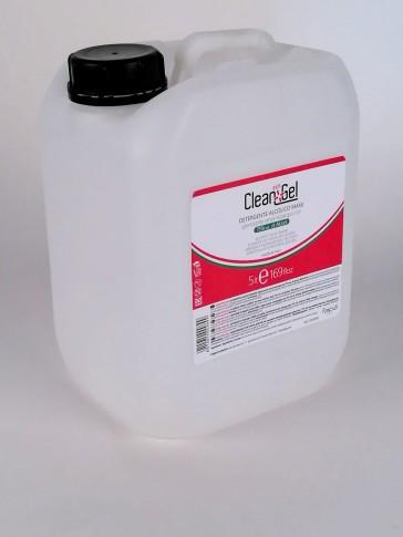 Gel Detergente Alcolico Mani, Tanica 5 lt.