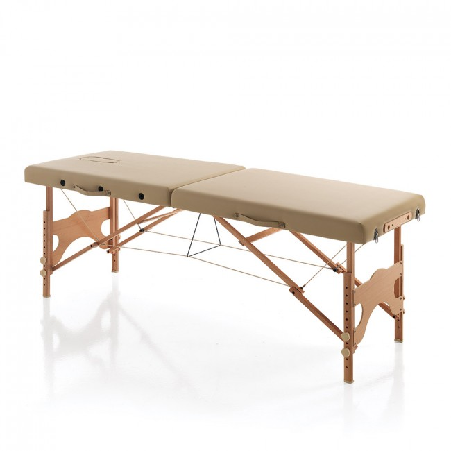 Lettino Massaggio Professionale Pieghevole.Lettino Pieghevole Massaggio Karma Wood Bed