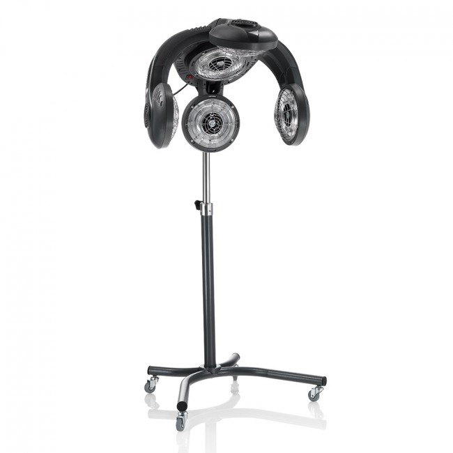 CASCO HAIR DRYER HANG UP RECORD BIANCO 1200W CON SUPPORTO A MURO PARRUCCHIERE