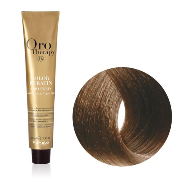 Tinta Capelli Biondo Cenere 71 Professionale Color Keratin Oro Therapy
