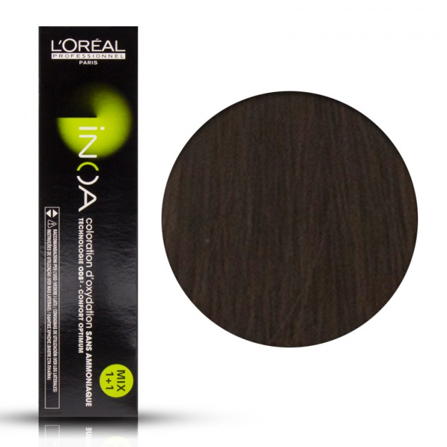 Tinta Capelli Inoa 6 Colore Professionale Biondo Scuro Loreal 6 Gr