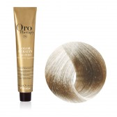 Tinta Capelli Biondo Platino Cenere Extra 10.1 Professionale, Color Keratin, Oro Therapy