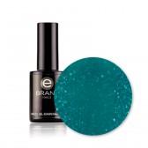 Smalto Semipermanente n. 200 - Esmeralda - Con Fibre di Vetro - Ebrand Nails