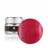 Gel unghie Corallo Glitterato n. 207, Paloma, con Fibre di Vetro, Ebrand Nails