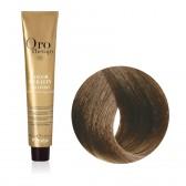Tinta Capelli Biondo Scuro Cenere 6.1 Professionale, Color Keratin, Oro Therapy
