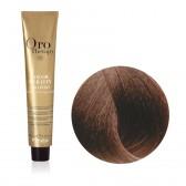 Tinta Capelli Biondo Scuro Dorato Rame 6.34 Professionale, Color Keratin, Oro Therapy
