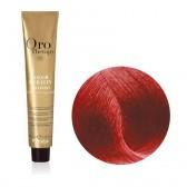 Tinta Capelli Biondo Scuro Rosso Caldo 6.606 Professionale, Color Keratin, Oro Therapy
