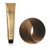 Tinta Capelli Biondo Cenere 7.1 Professionale, Color Keratin, Oro Therapy