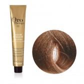Tinta Capelli Biondo Beige 7.13 Professionale, Color Keratin, Oro Therapy