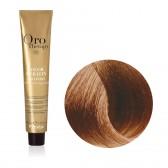 Tinta Capelli Biondo Chiaro Dorato 8.3 Professionale, Color Keratin, Oro Therapy