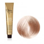 Tinta Capelli Biondo Chiarissimo Beige 9.13 Professionale, Color Keratin, Oro Therapy