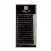 Box Extension Ciglia Nere Volume, Silk (Seta), Misura Singola, Ebrand Lashes
