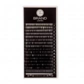 Box Extension Ciglia Nere - Flat - Misure Miste - Ebrand Lashes