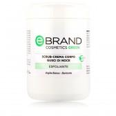 Scrub Corpo Nocciole e Mandorle - Ebrand Green - 2 pz. Vaso 500 ml
