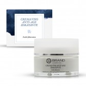Crema Viso Idratante Anti Age Acido Jaluronico, Ebrand Cosmetics, ml. 50