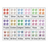 Set Stelline 12 Colori, Decorazione Nail Art