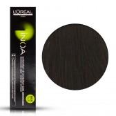 Tinta Capelli Inoa 3 Colore Professionale Castano Scuro, L'Oreal, 60 gr