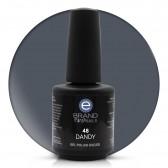 Smalto Semipermanente Grigio Bluastro, Dandy, Nr. 48, 15 ml, Evo Nails