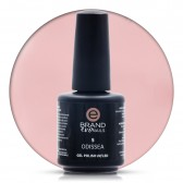 Smalto Semipermanente Rosa Carne Scuro Odissea nr. 5, 15 ml, Evo Nails