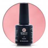 Smalto Semipermanente Rosa Pallido Nude nr. 7, 15 ml, Evo Nails