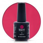 Smalto Semipermanente Rosa Geranio, Vanity Nr. 11, 15 ml, Evo Nails