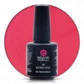 Smalto Semipermanente Rosa Magenta, Barbie Kiss Nr. 12, 15 ml, Evo Nails