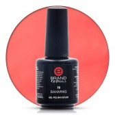 Smalto Semipermanente Rosso Scarlatto, Bahamas Nr. 19, 15 ml, Evo Nails