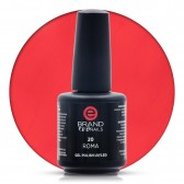 Smalto Semipermanente Rosso Pompeiano, Roma Nr. 20, 15 ml, Evo Nails