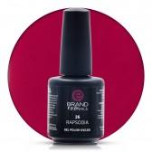 Smalto Semipermanente Rosso Amaranto, Rapsodia Nr. 26, 15 ml, Evo Nails