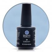 Smalto Semipermanente Azzurro Carta da Zucchero, Serenity, Nr.29, 15 ml, Evo Nails