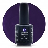 Smalto Semipermanente Viola Melanzana, Lullaby, Nr. 35, 15 ml, Evo Nails