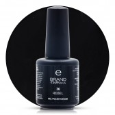 Smalto Semipermanente Nero, Rebel, Nr. 36, 15 ml, Evo Nails