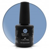 Smalto Semipermanente Carta da Zucchero Turchina nr. 57, 15 ml, Evo Nails